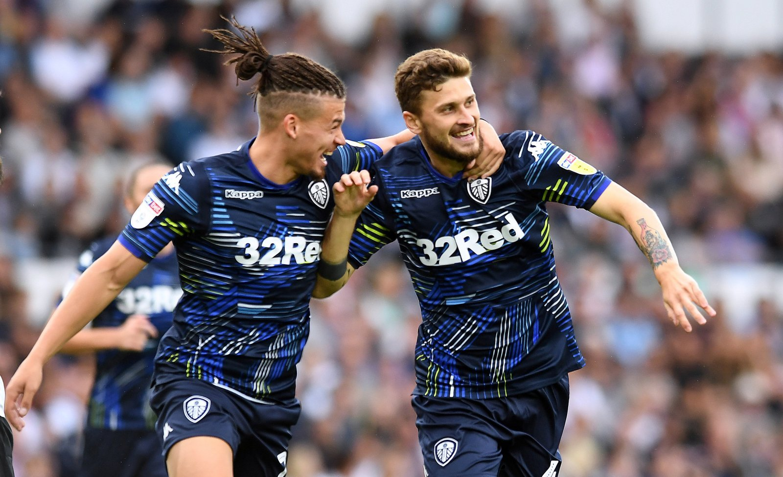 Leeds United ace issues positive message amid difficult
