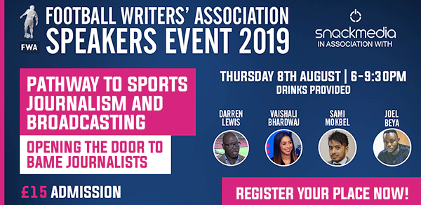 Football Writers' Association: Opening the Door to BAME Journalists